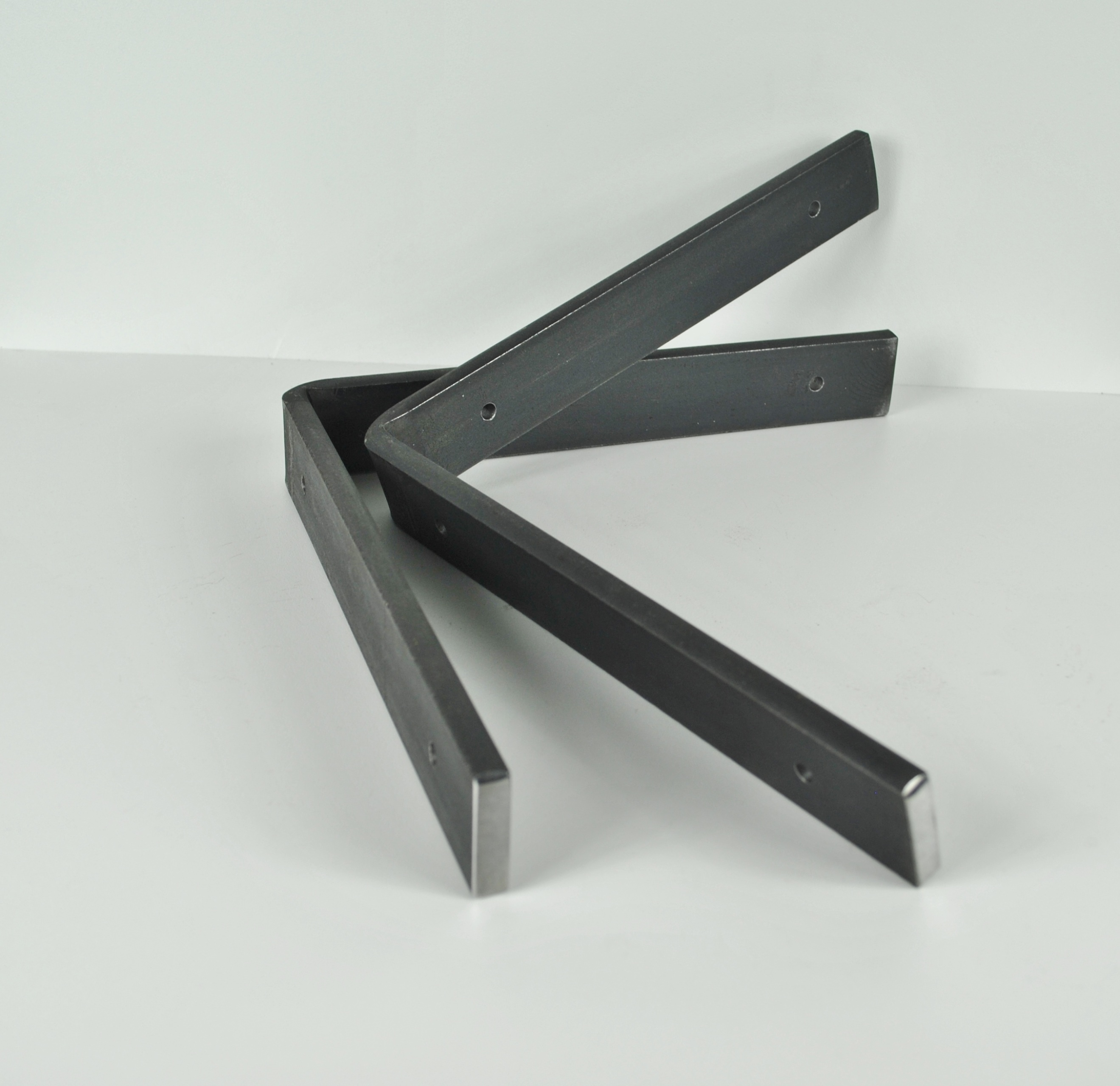 Heavy Duty Hardware : Quot heavy duty handcrafted shelf brackets thick